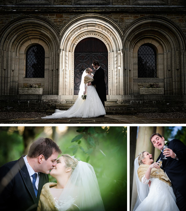 Shrigley Hall Winter Wedding photography