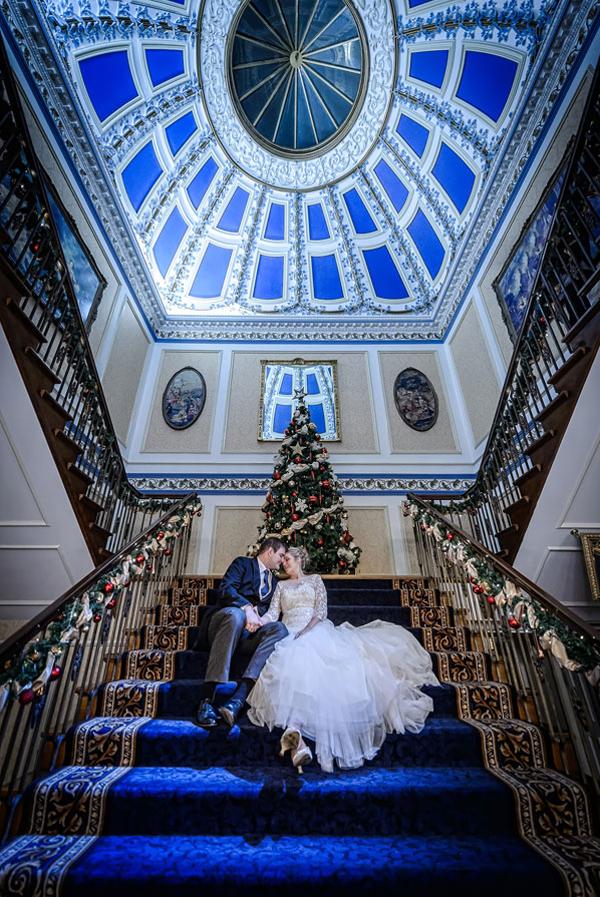 Christmas Wedding Shrigley Hall