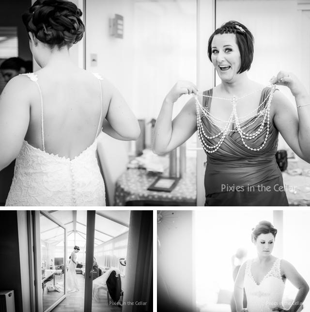 Documentary bridal prep Manchester