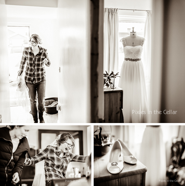 Documentary bridal prep, Chester photography