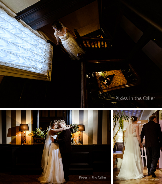 Rowton Hall Wedding Winter