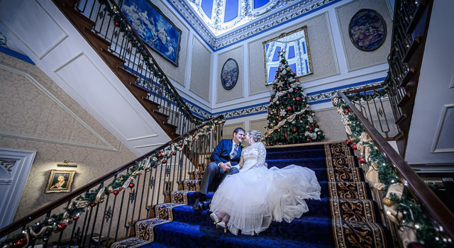 Cheshire Winter Wedding, Shrigley Hall • 2013