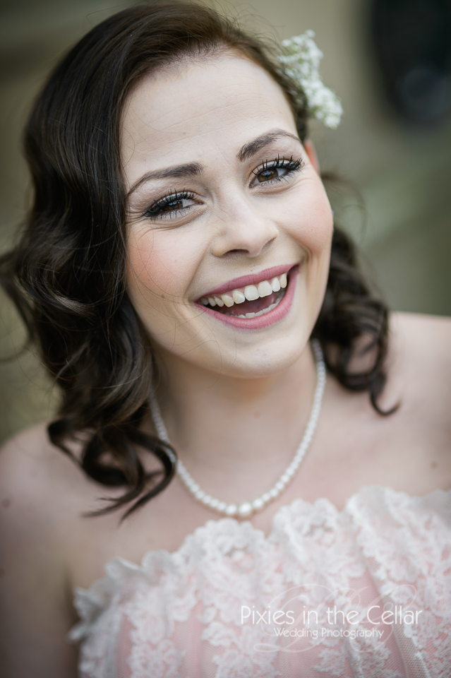 smiley bridesmaid manchester photo