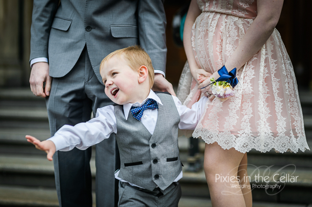 page boy at manchester wedding