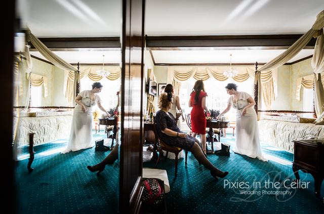 Mere court hotel bridal prep