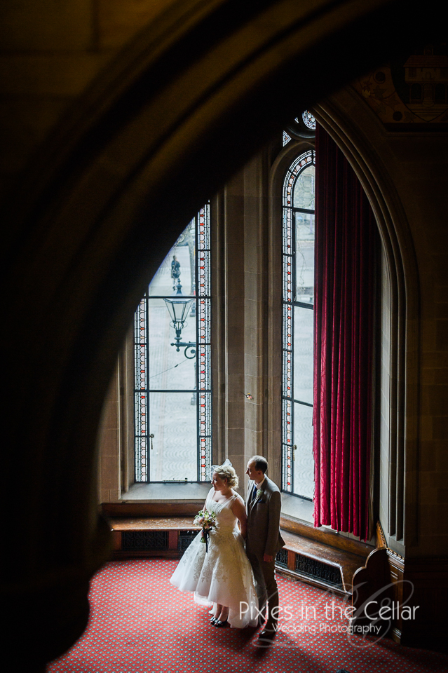 Manchester town hall just married