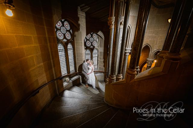 Manchester gothic wedding pics