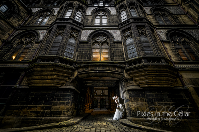 Manchester town hall wedding photographers