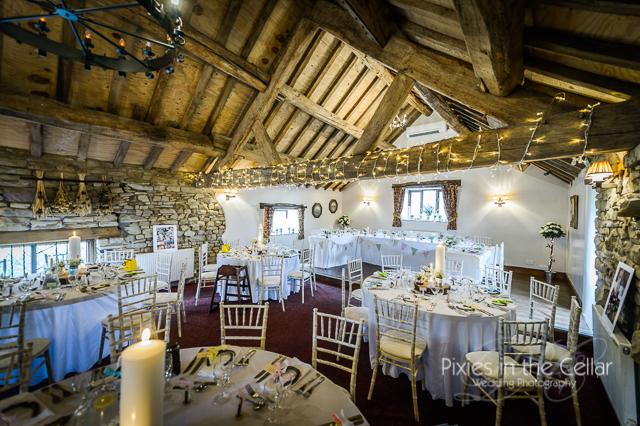 rustic wedding reception manchester