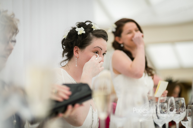 wedding speech tears