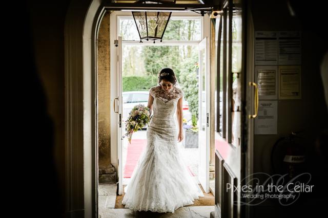 Bartle Hall Wedding bride arrives