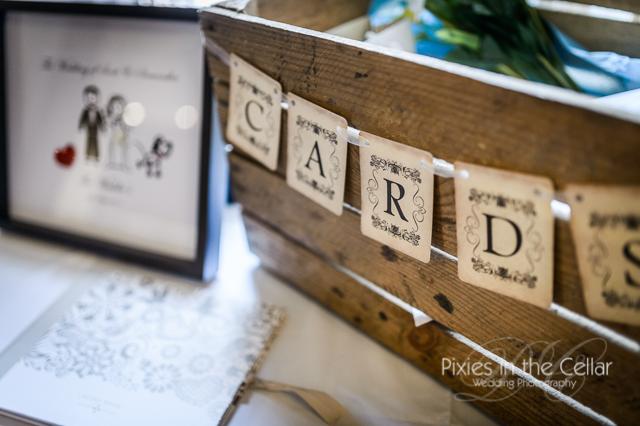 wedding crate card box