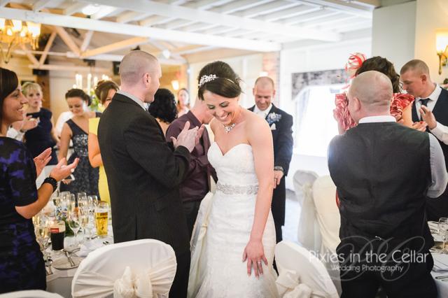 Bartle Hall Wedding reception