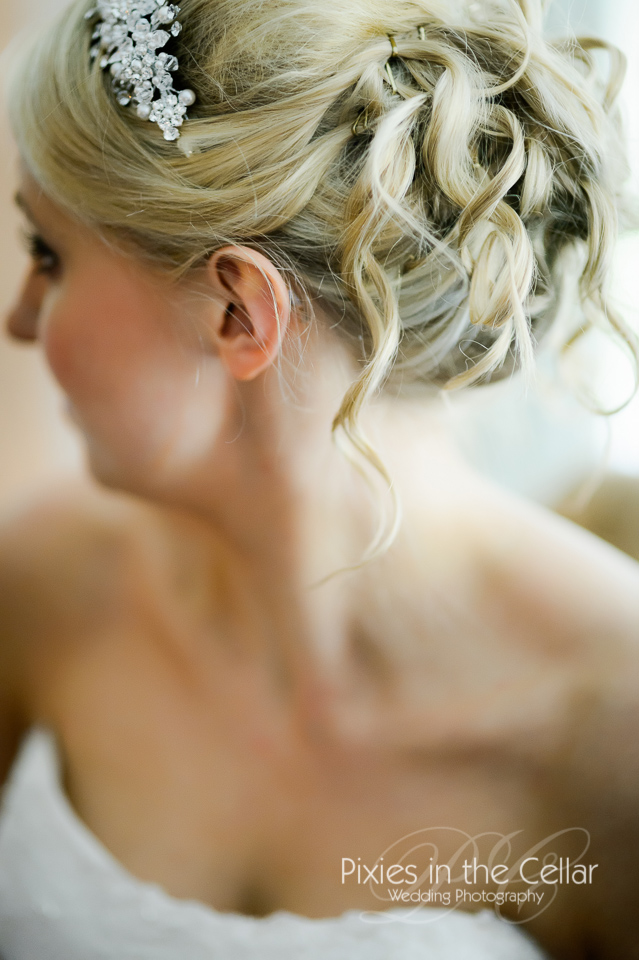 Mere Court Wedding bridal hair