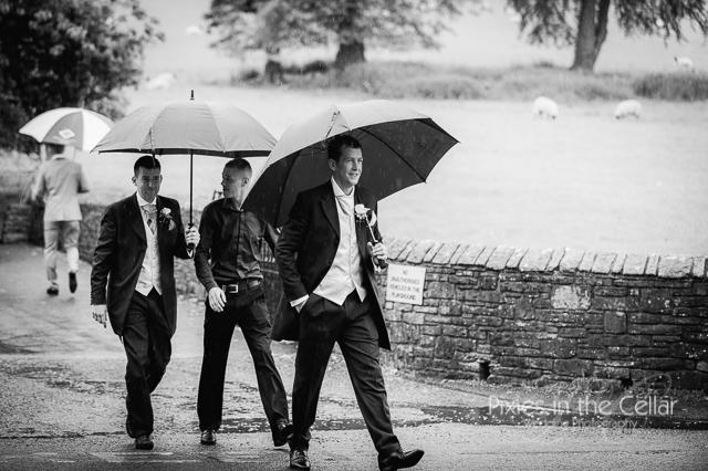 Shrigley Hall Wedding and Pott Shrigley Church