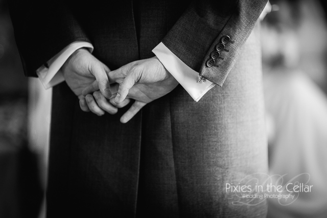 hands and wedding cuffs