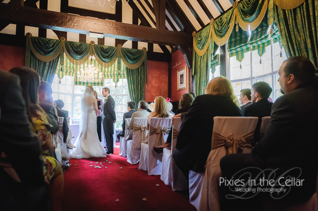 Mere court hotel wedding ceremony