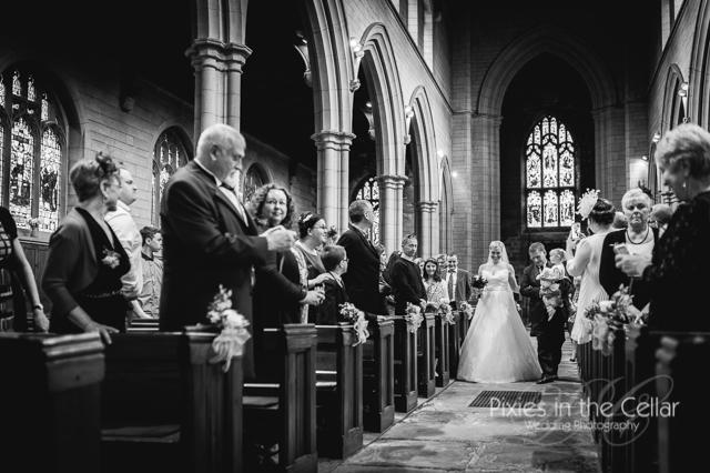 church wedding marsden yorkshire