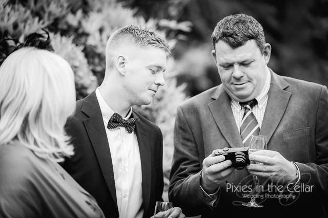 wedding guest and camera