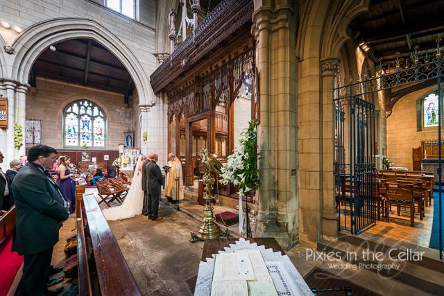 church wedding ceremony photo