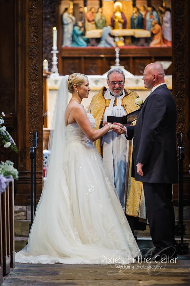 wedding vows in church