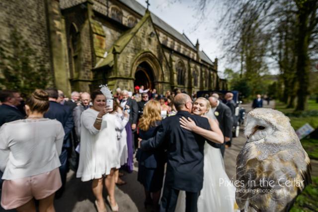 barn owl yorkshire spring wedding