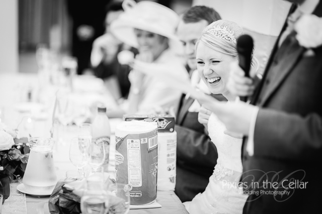 laughing bride wedding speeches