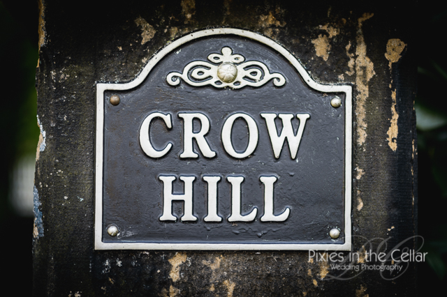 crow hill cottages sign