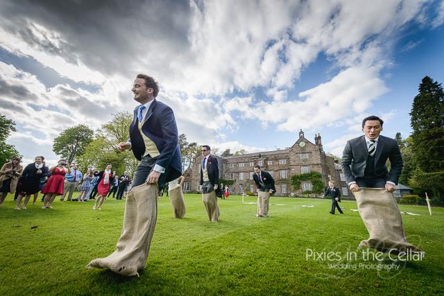 wedding-sack-race-photograph-lancashire