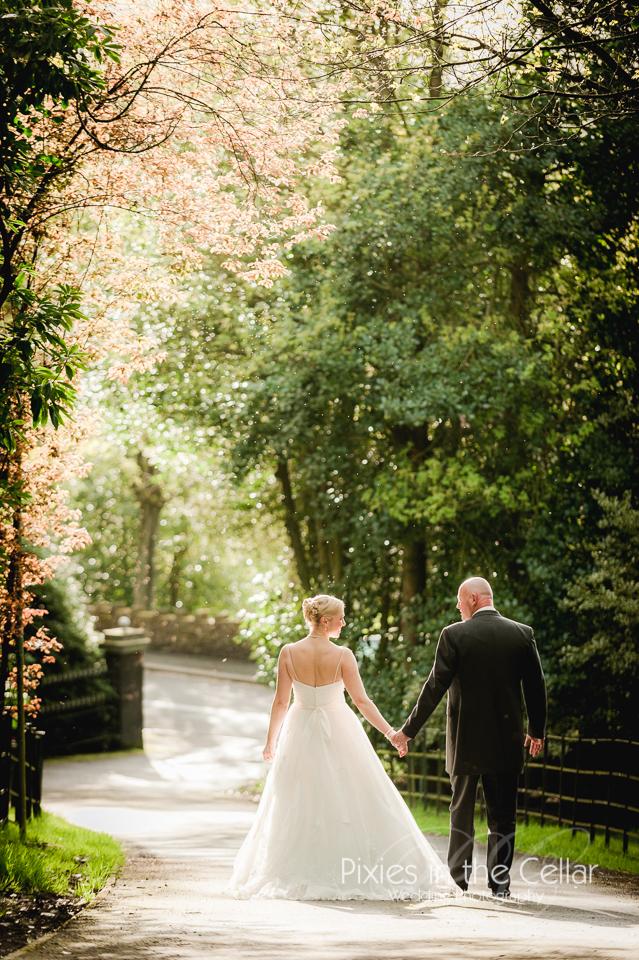 spring wedding photo yorkshire