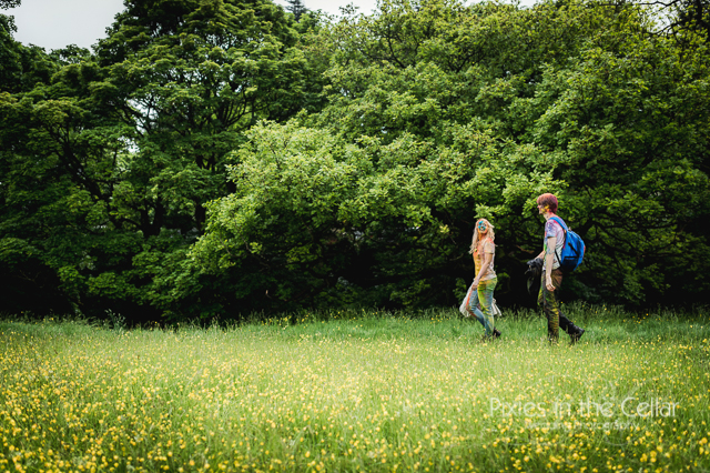 engagement shoot in The Peak District