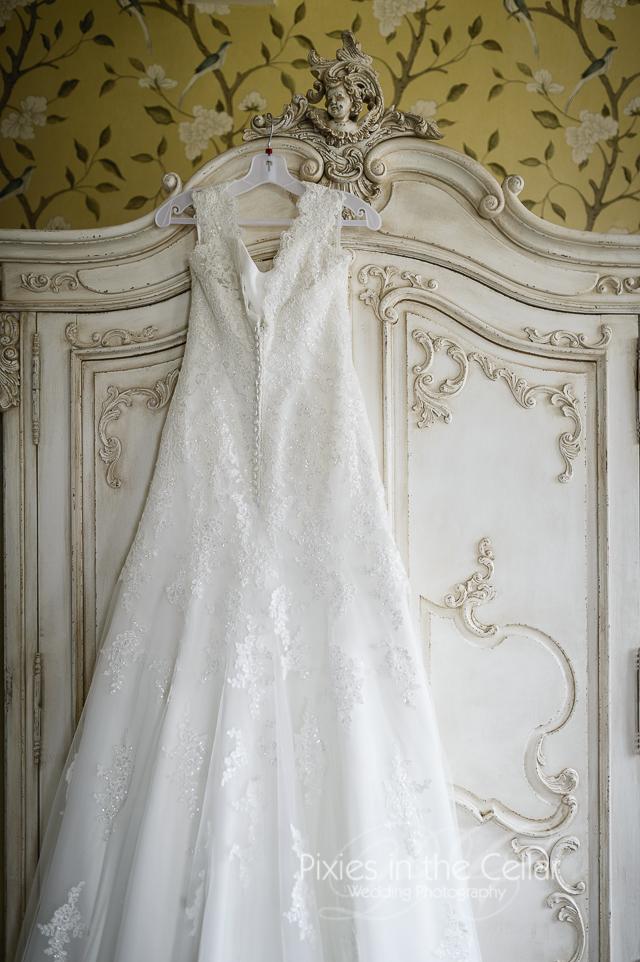 Eaves Hall Bridal prep wedding photography