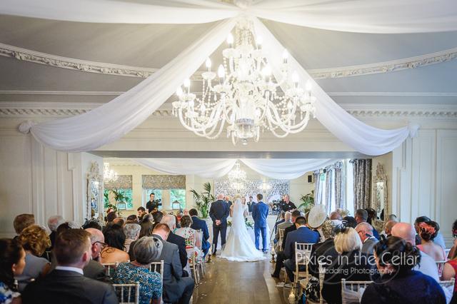 Eaves Hall civil ceremony Lancashire