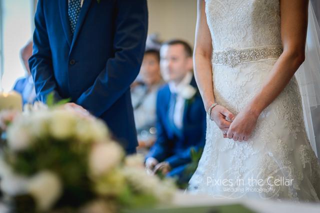 Bride and groom Lancashire wedding