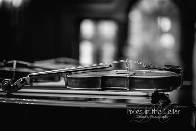 Manchester wedding photographers wedding violin