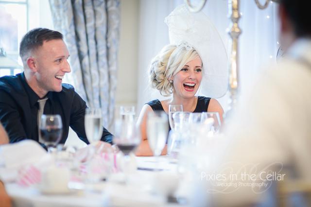 Eaves Hall Wedding Speeches