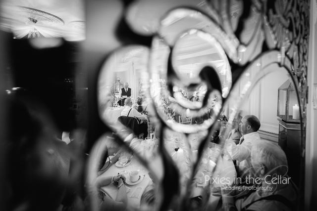 Eaves Hall Wedding Reflections