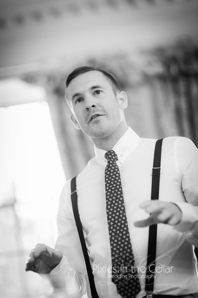 Eaves Hall Wedding Best man speech