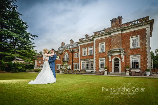 Eaves Hall Wedding Lancashire
