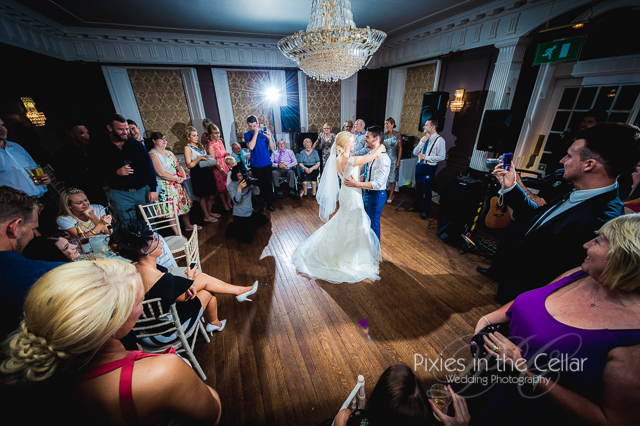 Eaves Hall Wedding First Dance