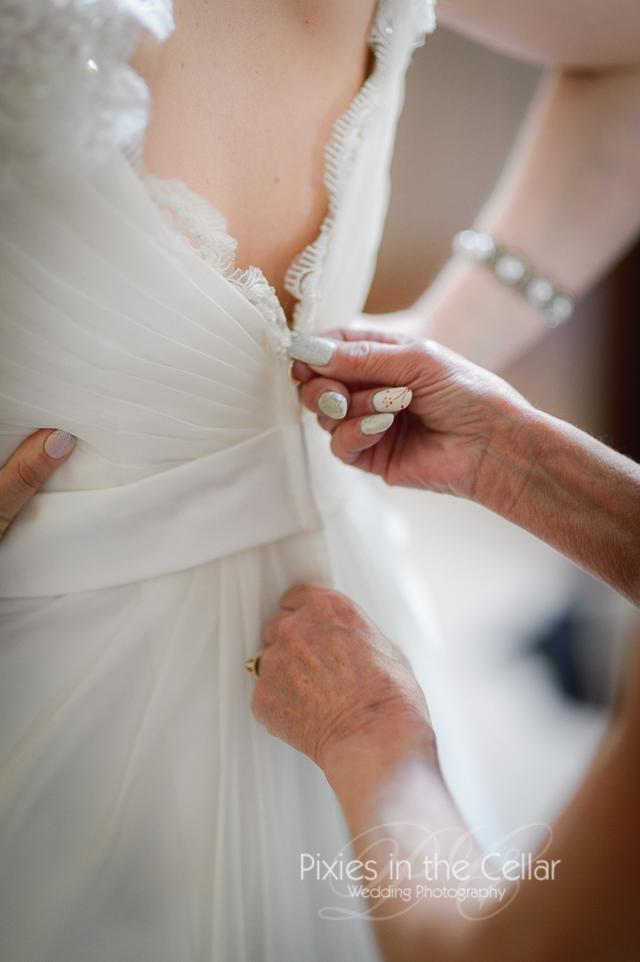 Manchester wedding photographer dress detail