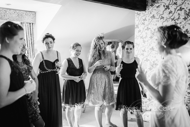 Manchester Bride and bridesmaids