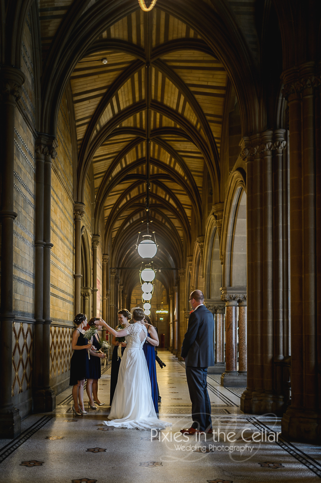 Manchester Town Hall documentary Wedding Photography