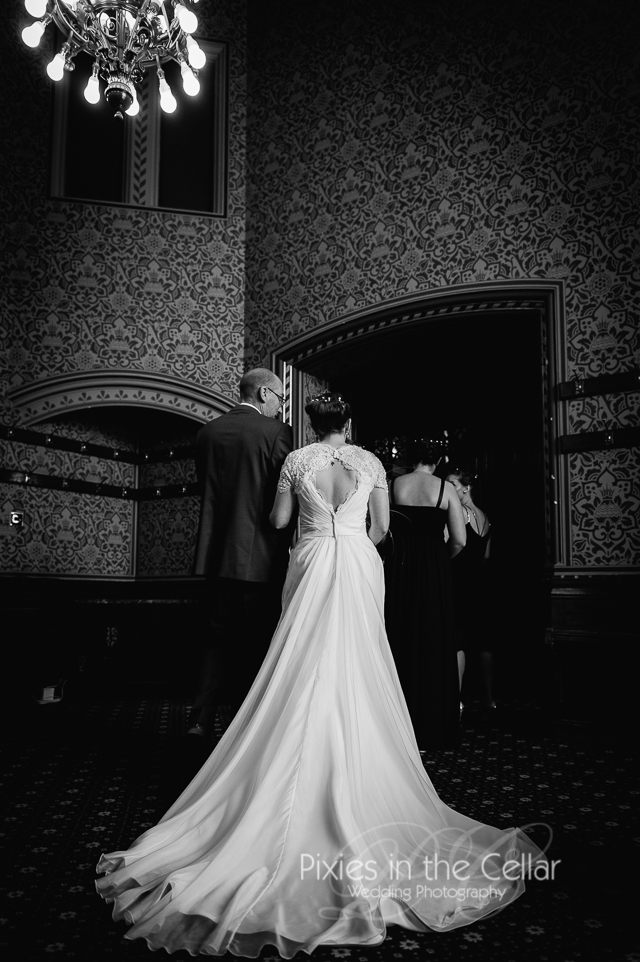 Manchester Town Hall wedding anteroom