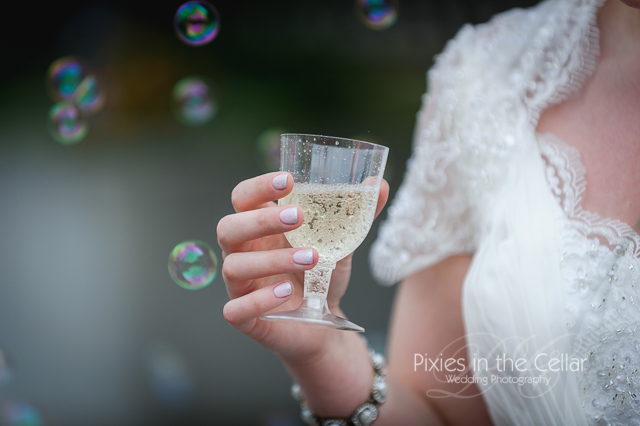 Manchester Wedding bubbles