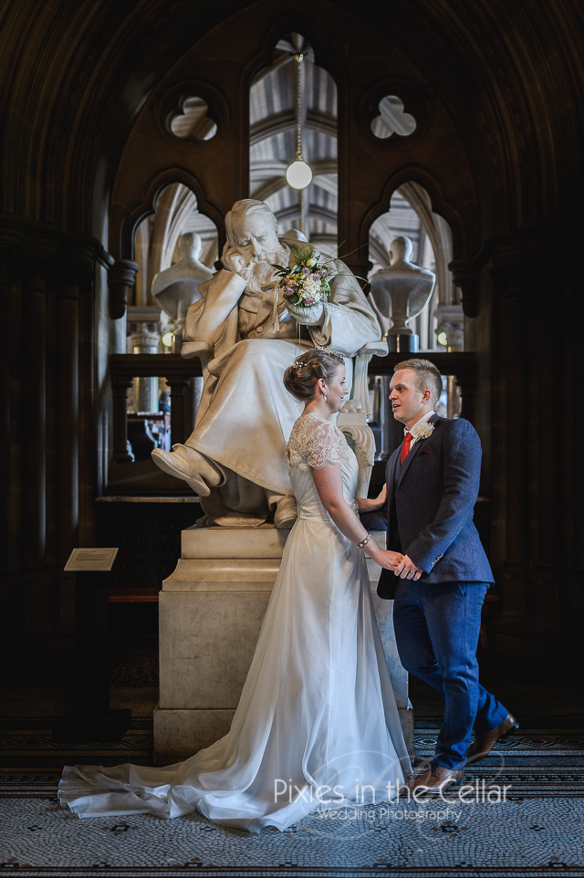 Manchester Town Hall wedding -46