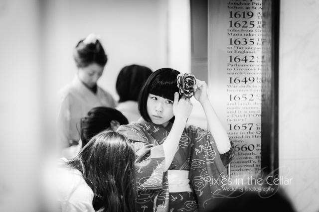 Kimono bridesmaids Wedding -12