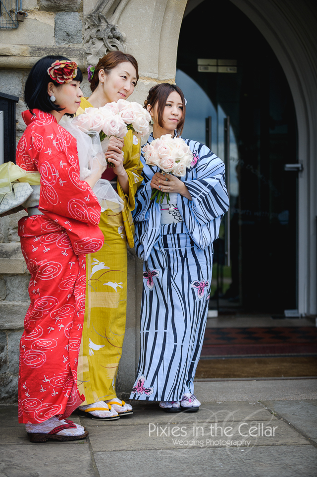 kimono bridesmaids Wedding -45