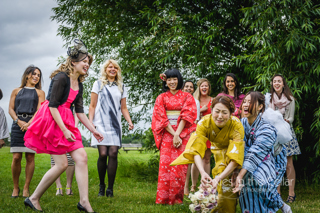 Kimono Japanese English Wedding