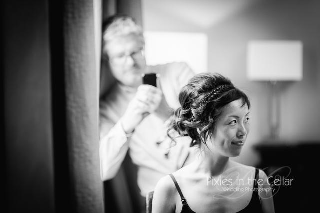 Bridal prep Mercure Greenwich Wedding -9